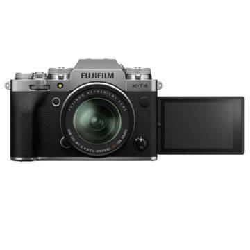 Fujifilm X-T4, la mirrorless con stabilizzatore incorporato
