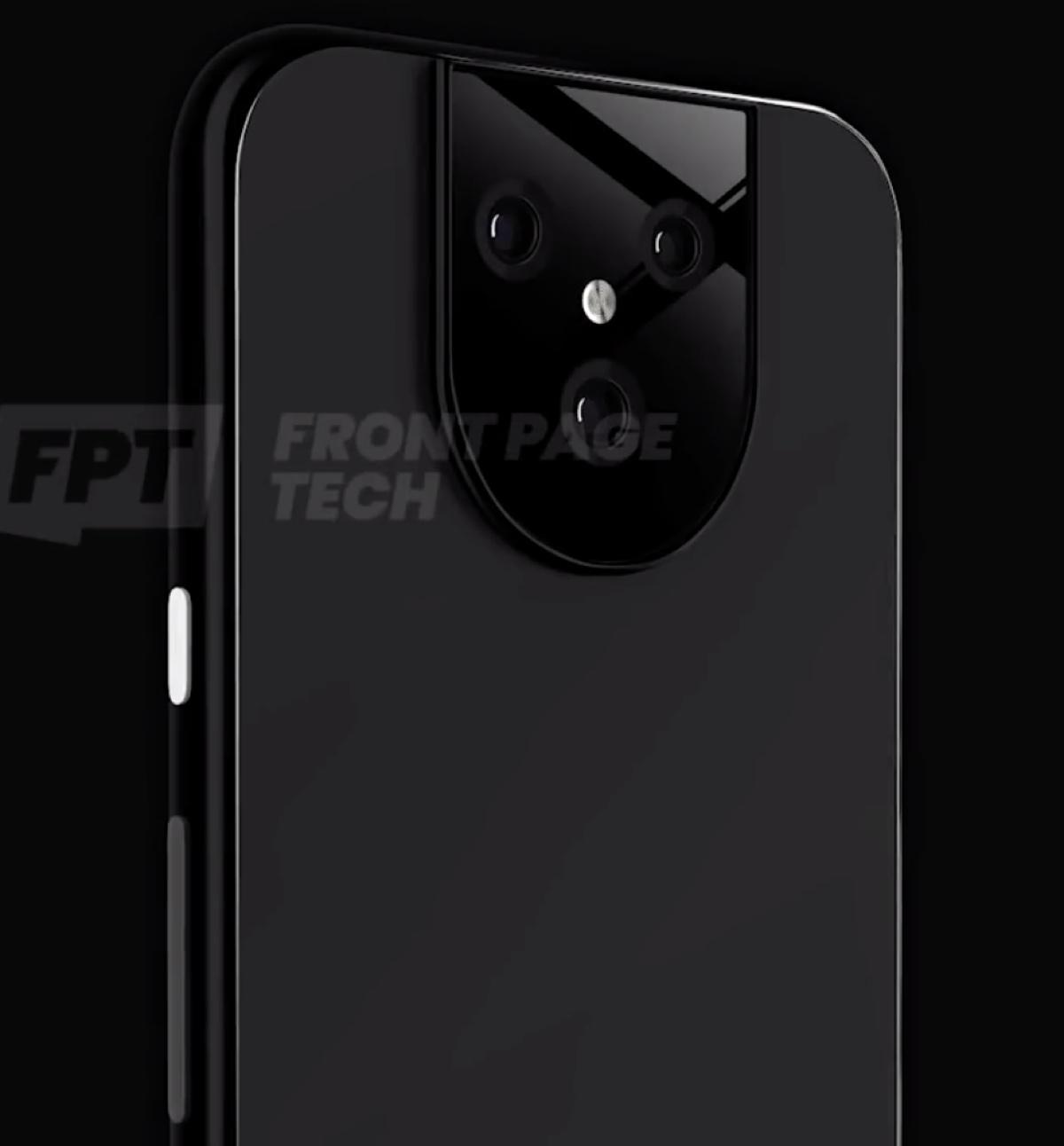Google Pixel 5 XL il render del prototipo mostra un blocco fotocamere speciale