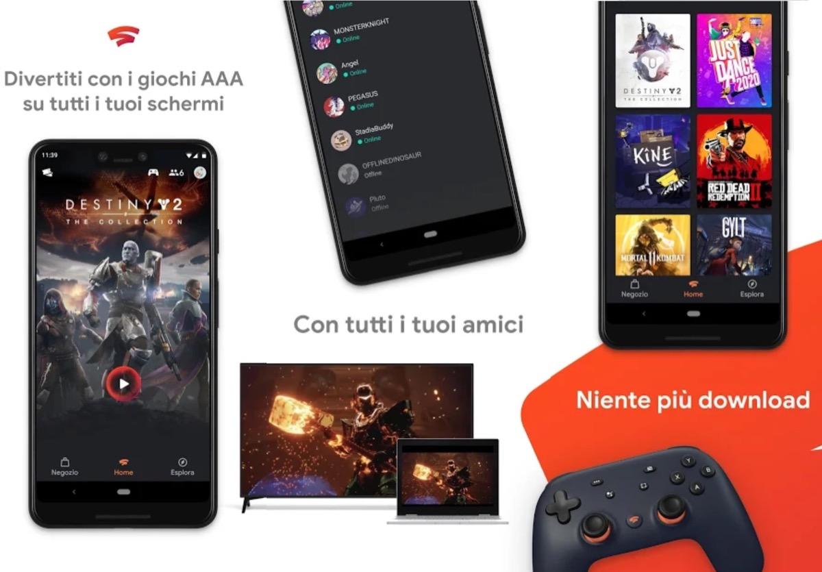 Razer Phone e i controller Razer sono compatibili con Google Stadia