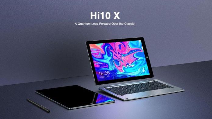 CHUWI Hi10X, il PC tablet con Windows 10 e 6GB di RAM in offerta lampo a 213,20 eurp