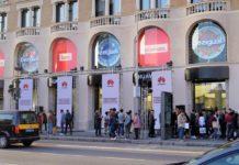Huawei ha aperto uno store a Barcellona scopiazzando a man bassa gli Apple Store