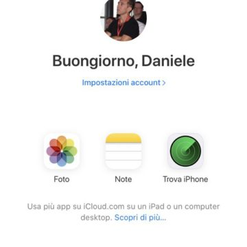 Ora iCloud.com è disponibile via browser da iPhone, iPad e Android