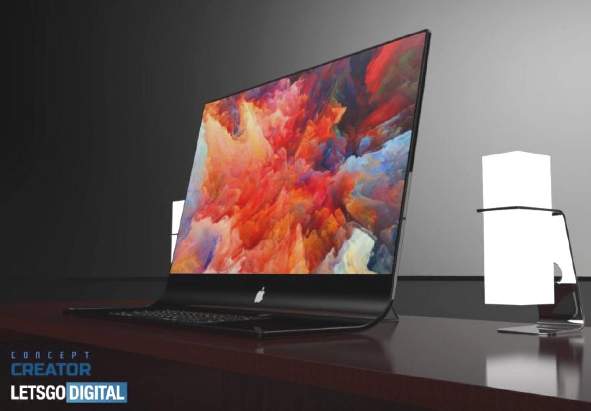 Nel video iMac Pro 2020 prende vita il brevetto Apple di un iMac tutto vetro