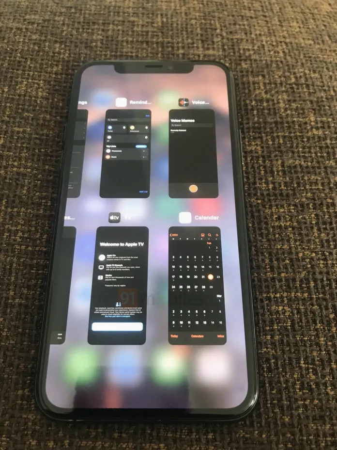 Ecco il multitasking iOS 14 in video