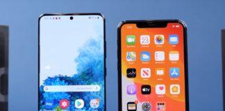 iPhone 11 Pro Max contro Galaxy S20 Ultra è il test di velocità tra titani