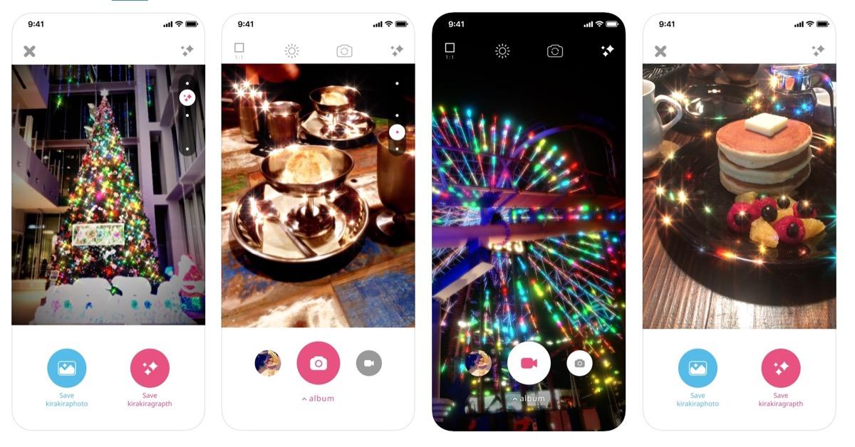 L'app kirakira+ aggiunge il luccichio a foto e video su iPhone e iPad