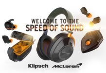 Klipsch Audio e McLaren Racing svelano la serie di cuffie co-branded