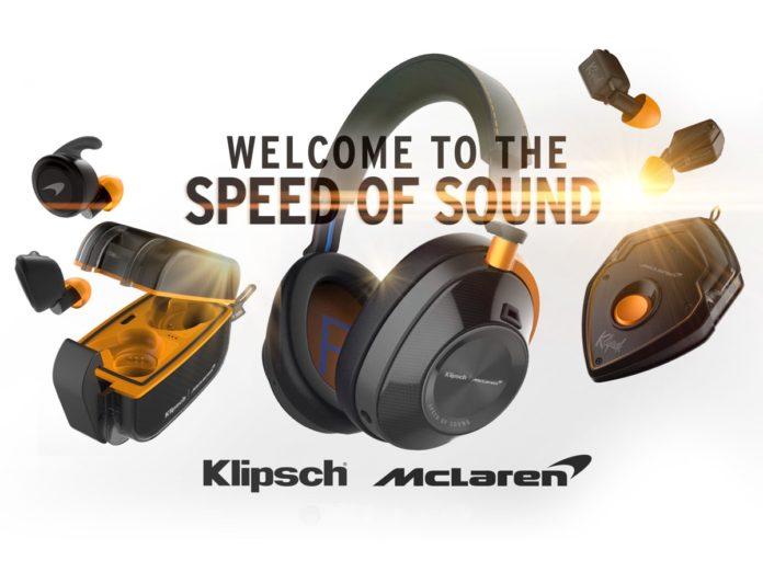 Klipsch Audio e McLaren Racing svelano la serie di cuffie co-branded