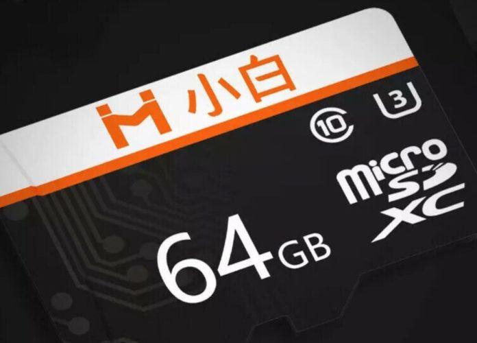 Xiaomi IMI, microSD di classe 10 fino a 128 GB in sconto a partire da 9,35 euro