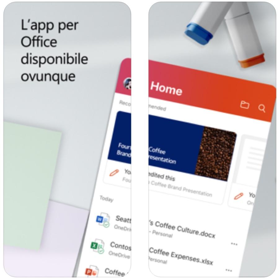Microsoft Office app per iPhone porta software e strumenti in una sola app