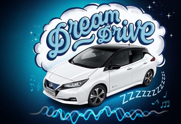 Nissan Dream Driving è la ninna nanna per le auto elettriche