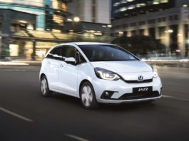 Nella nuova Honda Jazz tecnologia ibrida e:HEV con tre diverse modalità di guida