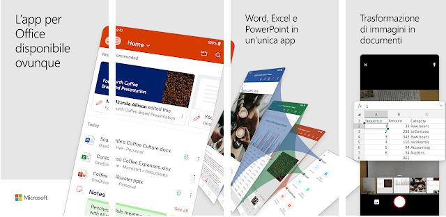 Microsoft lancia la suite Office unificata per Android