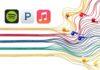 Streaming musicale, Pandora ruba il secondo posto ad Apple Music