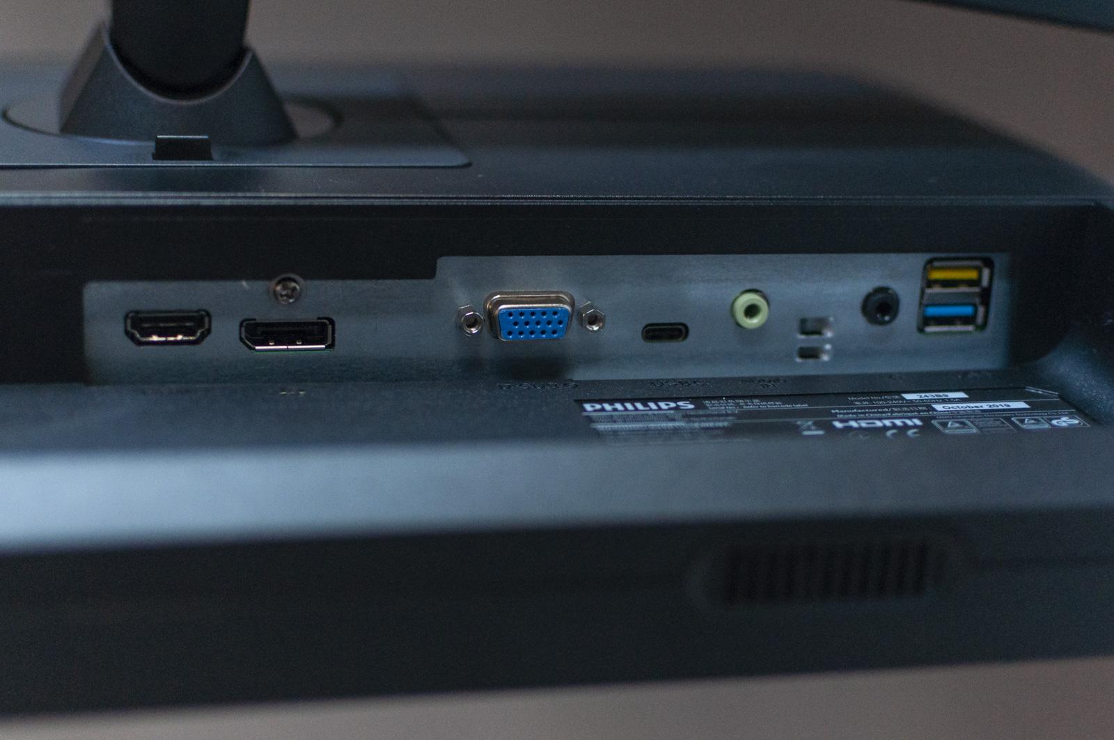Recensione PHILIPS B-Line 243B9, il monitor da ufficio con USB-C