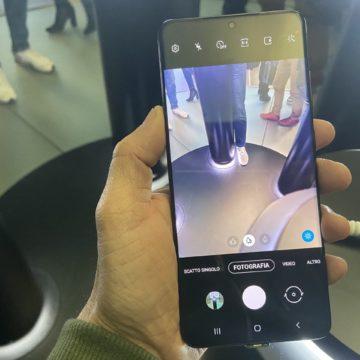 Samsung Galaxy S20, S20 + e S20 ultra: visti da vicino