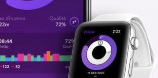 L'app Pillow monitora i cicli di sonno da iPhone, iPad e Apple Watch