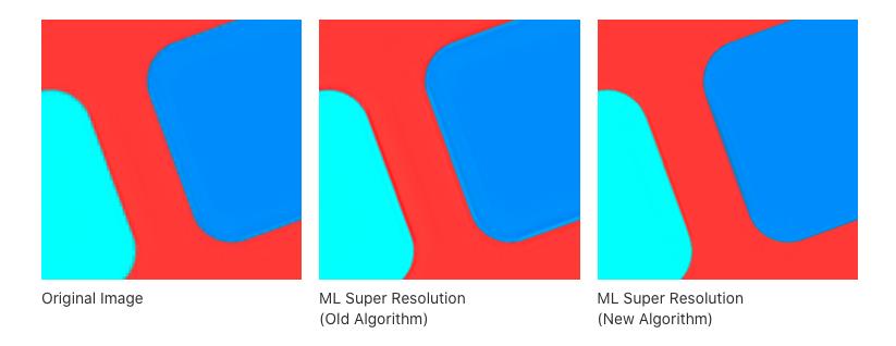 Pixelmator Pro 1.5.5 migliora l'algoritmo che aumenta la risoluzione e il denoise con l'apprendimento automatico
