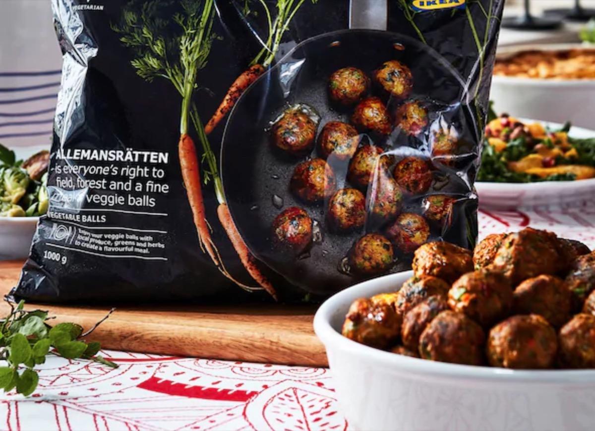 Le polpette vegetariane IKEA che hanno il sapore di carne
