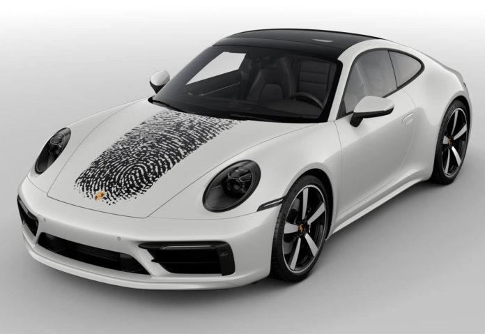 La Porsche 911 si può personalizzare con l'impronta