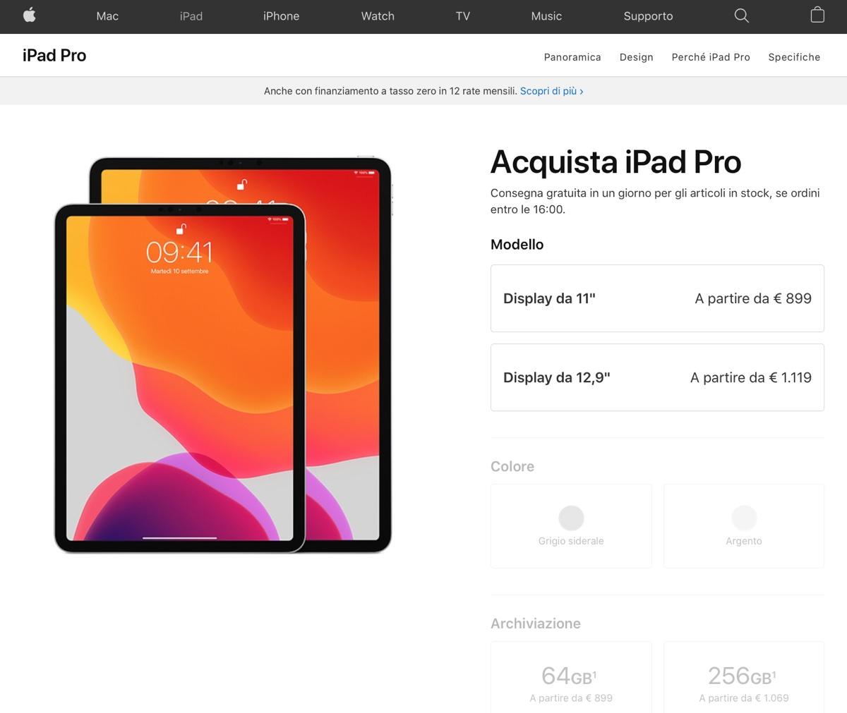 Il nuovo iPad Pro 2020 con fotocamera 3D è in produzione