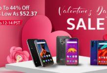 Gli smartphone Blackview sono scontati fino al 44% per San Valentino