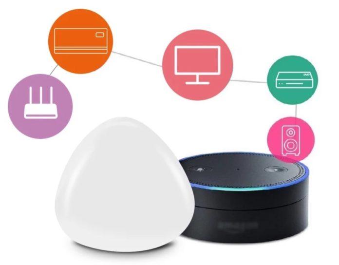 La saponetta WiFi che abilita il controllo Smart di qualsiasi dispositivo a infrarossi