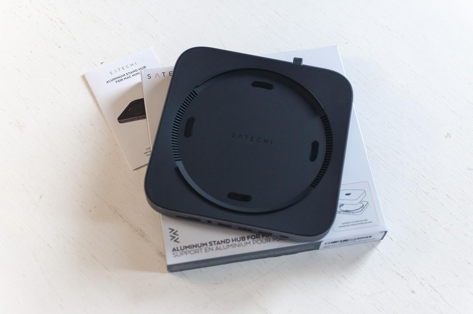 Recensione Satechi Type-C Aluminum Stand & Hub for Mac Mini