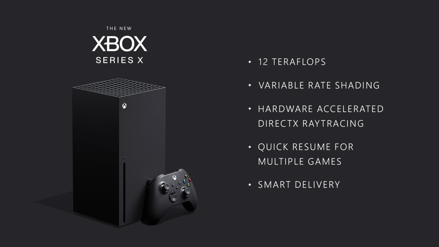 Svelate le specifiche di Xbox Series X: super potente e retro compatibile