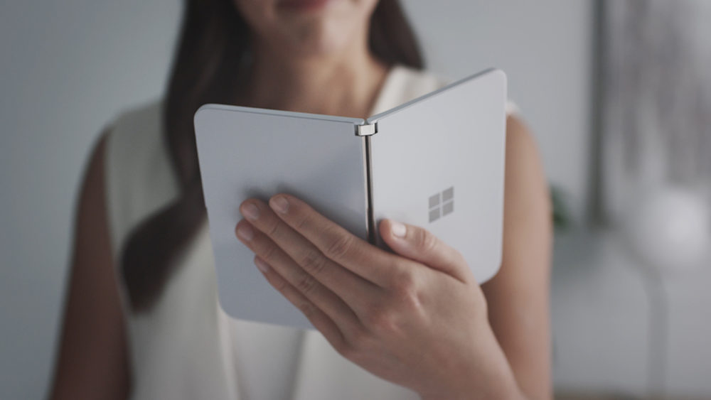video surface duo microsoft