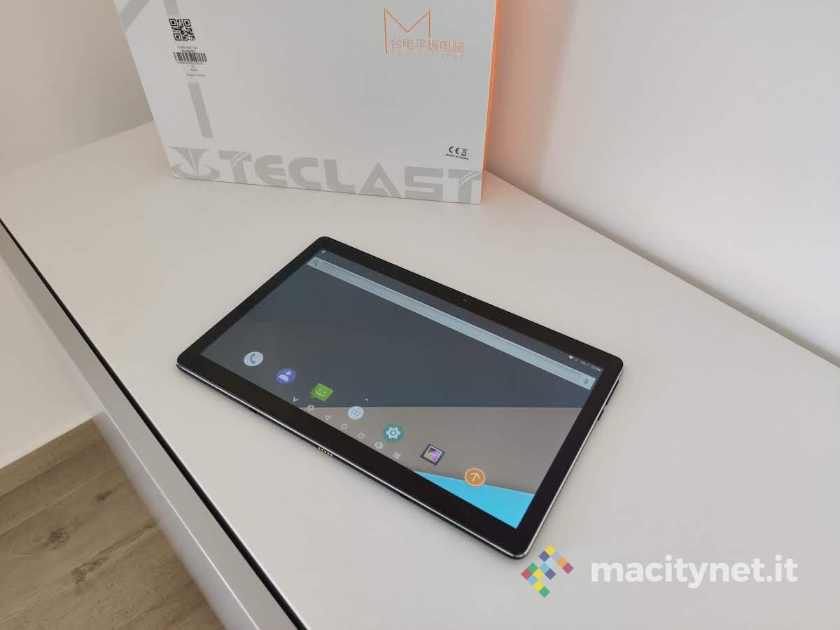 Recensione Teclast M16, il tablet low cost con funzioni smartphone