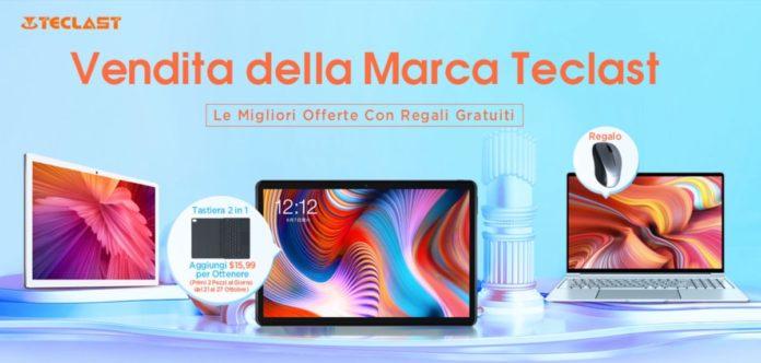 Tutto Teclast in sconto: portatili, tablet e all-in-one a partire da 88,99 euro