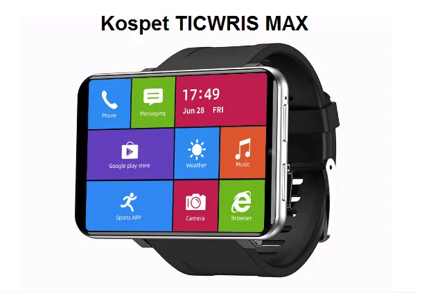 Ticwris Max, lo smartphone al polso costa in offerta 139 euro