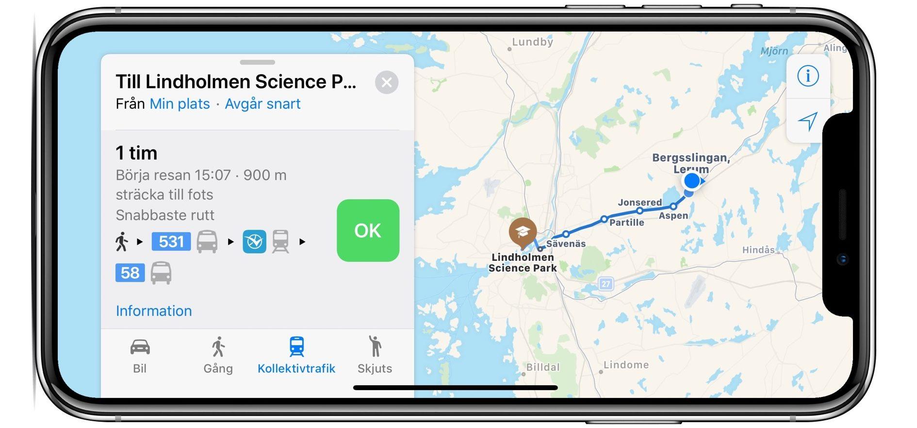 Transit di Apple Maps arriva in diverse nazioni europee