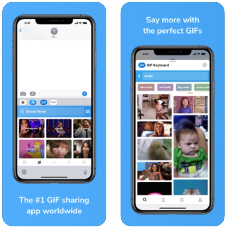 È facile trovare la GIF perfetta con i nuovi strumenti di Tenor