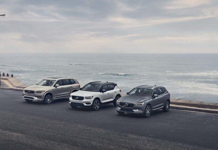 Volvo Cars ha presentato le versioni aggiornate della berlina S90 e delle station wagon V90/V90 Cross Country