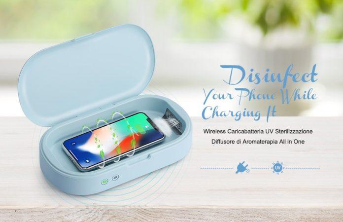 Sterilizzare gli smartphone, con gocomma adesso bastano 25,33 euro