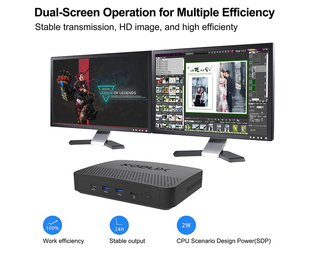 KODLIX GN41, il mini PC con 8 GB di RAM in super offerta scontato di quasi 40 euro