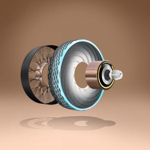 Goodyear reCharge è il concept di pneumatico con mescola ricaricabile