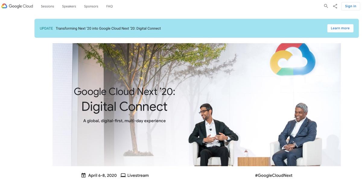 Adobe e Google cancellano le conferenze per Coronavirus