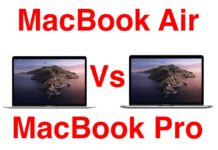 Con il MacBook Air 2020 ora il MacBook Pro 13″ ha meno senso