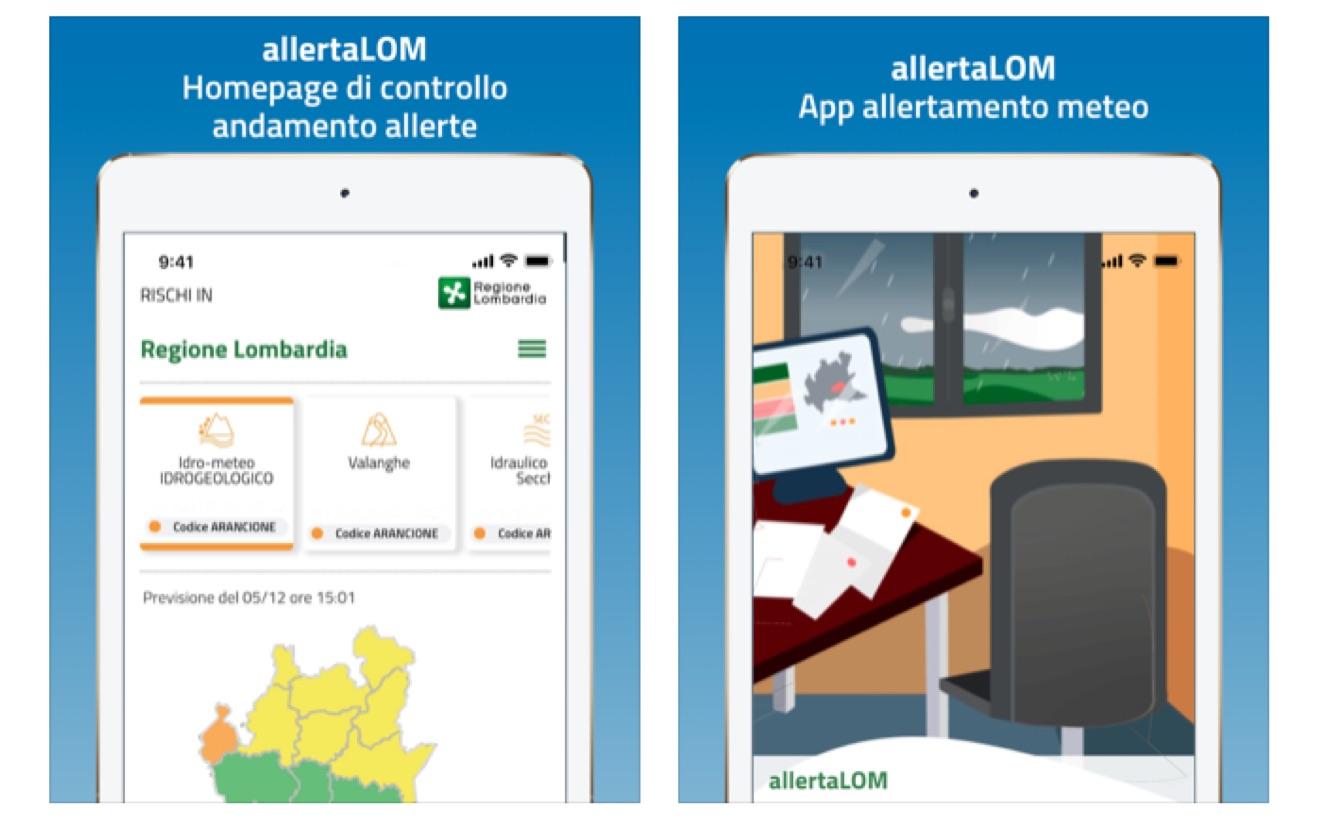 Tutte le informazioni sul Coronavirus nell'app AllertaLOM