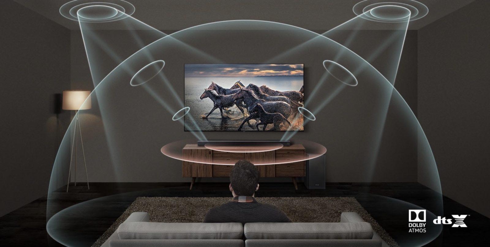 Soundbar Samsung harman/kardon HW-Q70R 3.1.2 in sconto di oltre 100 euro su eBay