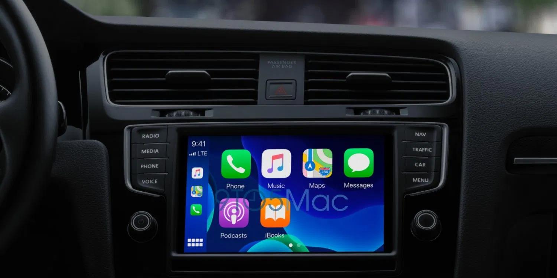 Sfondi CarPlay con iOS 14, e maggiori dettagli Apple Store sulle Mappe