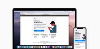 Apple sito e app COVID-19