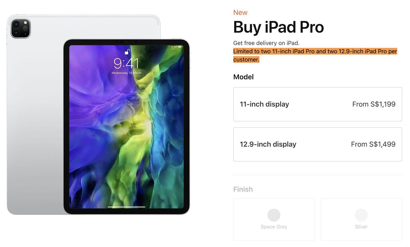 Apple limita gli acquisti di numerosi prodotti in diversi paesi asiatici