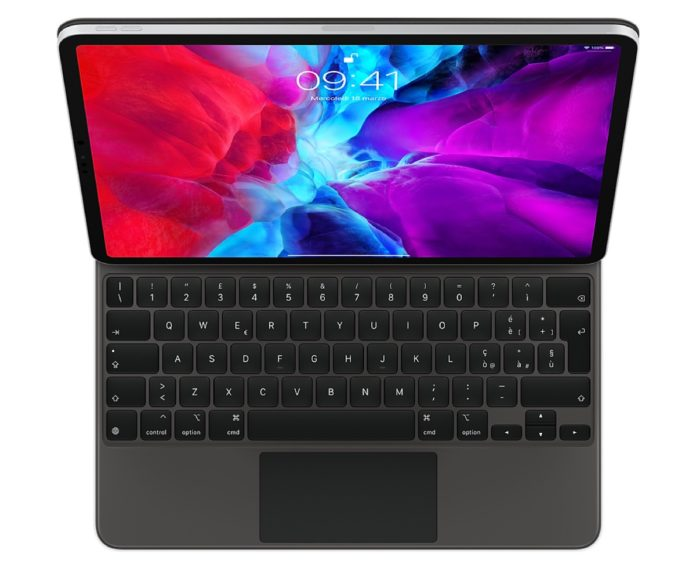 Apple Magic Keyboard con Trackpad funziona con gli iPad Pro 2018