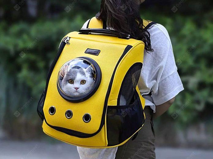 Lo zaino trasportino Xiaomi youpin per trasportare il vostro gatto in offerta