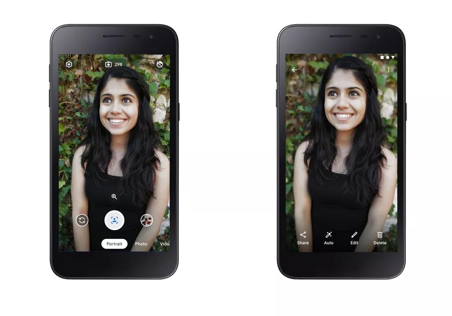 Google Cemera Go, l'app fotografica snella che non rinuncia ai Ritratti