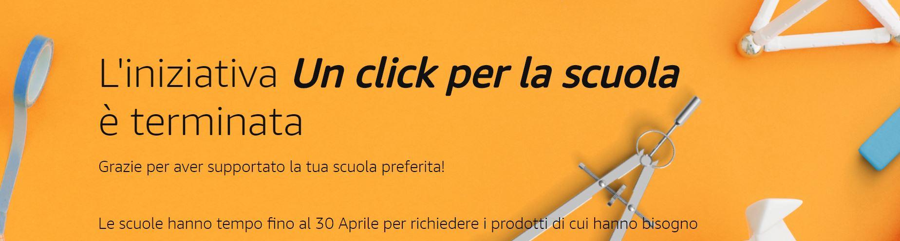 Amazon dona 1,9 milioni di euro alle scuole italiane con un Click per la Scuola